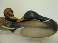Bill Gibian Mallard Pair decoy
